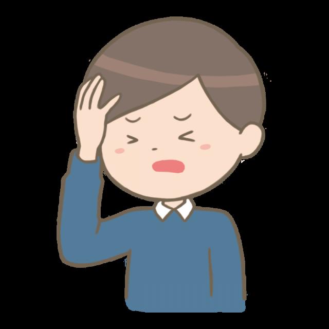 学生の頃からの慢性的な頭痛